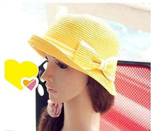 Womens-Ladies-Brim-Summer-Beach-Sun-Hat-Straw-floppy-Elegant-Bohemia-cap