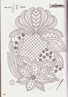 bobbin lace patterns free - Buscar con Google