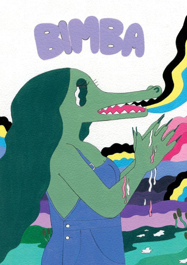 Bimba comics Anthology - Donya Todd Illustration