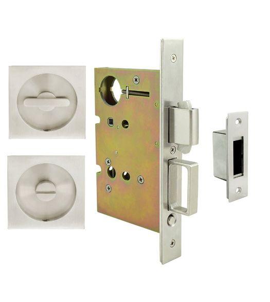 Urban Flush Pull Privacy Set Doorware Com In 2020 Pocket Doors Locker Storage Pocket Door Hardware