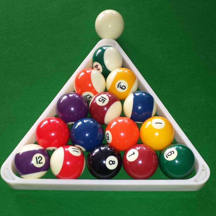 Durable 8 Ball Pool Billiard Table Rack Triangle Rack 320 X 296 X 30mm Standard  Size