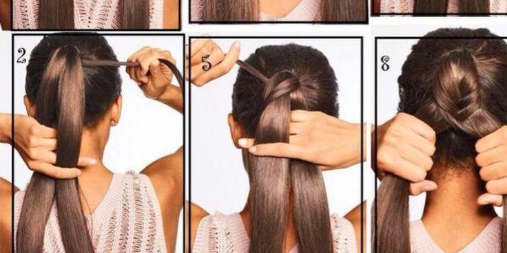 Ideen für einfache Frisuren.