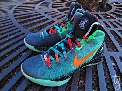 Nike Zoom Hyperdunk 2011 Supreme 'Galaxy' Blake Griffin