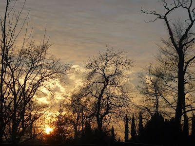 Mój mały, półprywatny świat.: Magiczny zachód słońca
