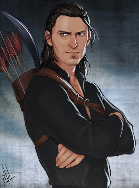 "orangeflavoryawp: "" etaeternum: "" Maker. The sexiest GRUMP Nathaniel Howe and THAT SMIRK. *Swoon* @cocotingo strikes again! For all that is good and right in this world, commission this artist! I imagine he's watching Hale cause trouble and can't..."