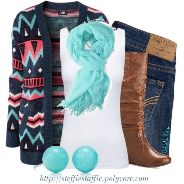 Love this! Like the sweater! I don't wear Hollister jeans, but I'd wear everything else!