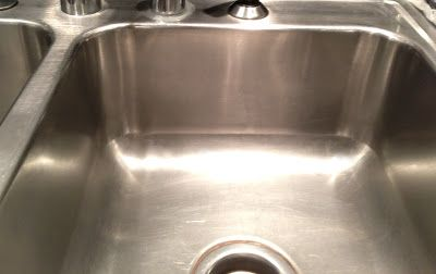 Eclectified Living: How To Make Your Stainless Steel Sink Shine