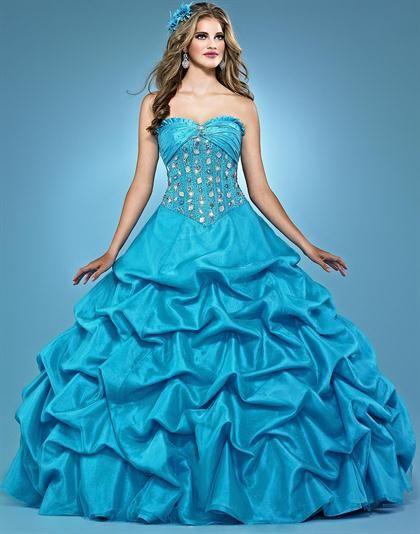 Landa Quinceanera AQ05 at Prom Dress Shop