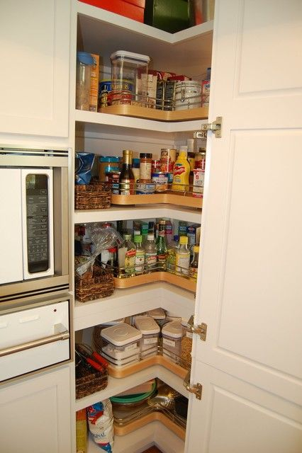Walk In Corner Pantry Cabinet Cupboards Cabinets