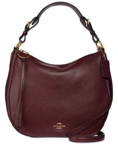 d480fe8699 Sutton Hobo in Polished Pebble Leather in 2019   Feeding the addiction    Handbag accessories, Shoulder Bag, Pebbled leather