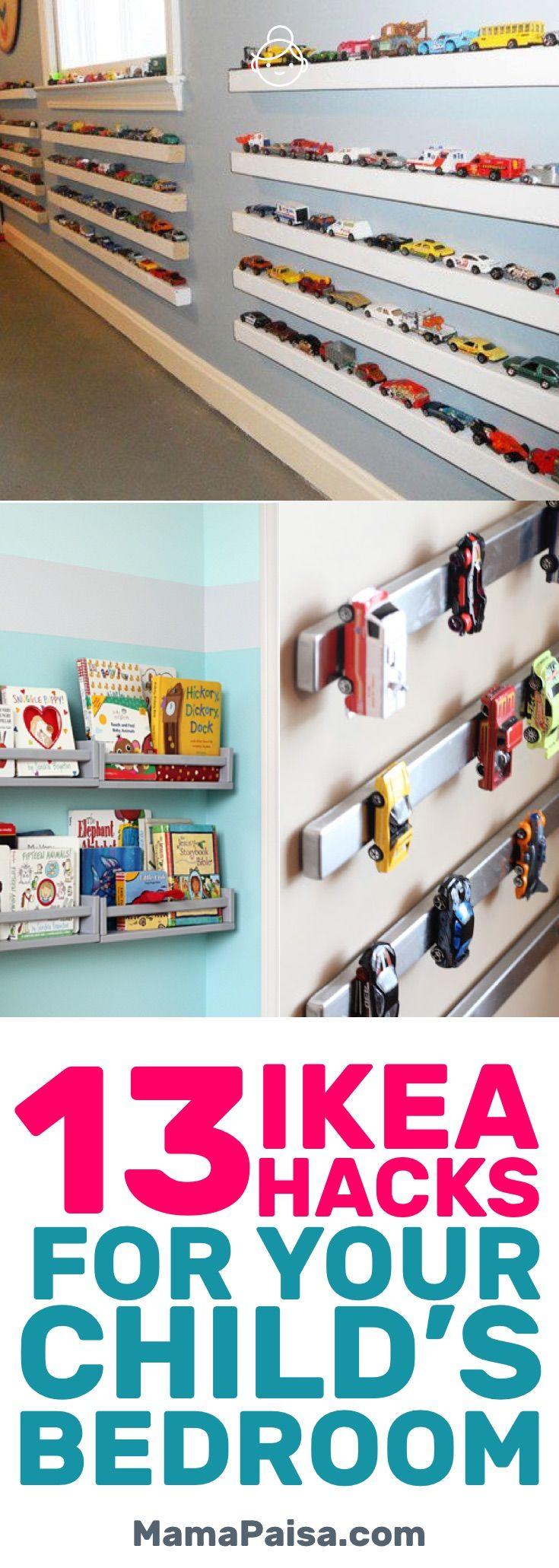 13 Simple DIY IKEA Hacks for Any Kids' Room