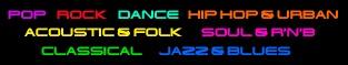Musical genre lists
