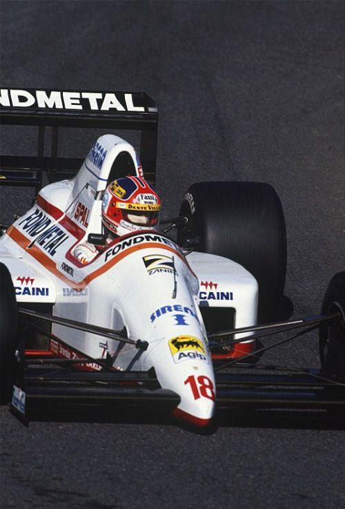 Piercarlo Ghinzani Osella - Ford 1989