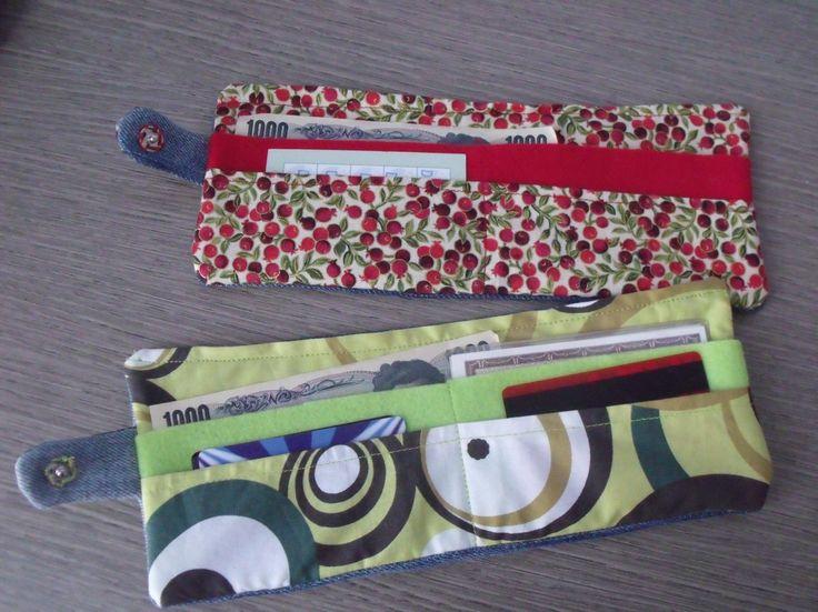 how to make a cute wallet diy tutorial - come fare un portafoglio o portatessere di stoffa tutorial