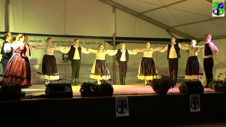 IV.Landesjugendtreffen Tanzgruppe  St Martin und Kapelle Takser Spatzen