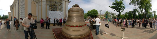 The main bell of Preobragenskiy sobor