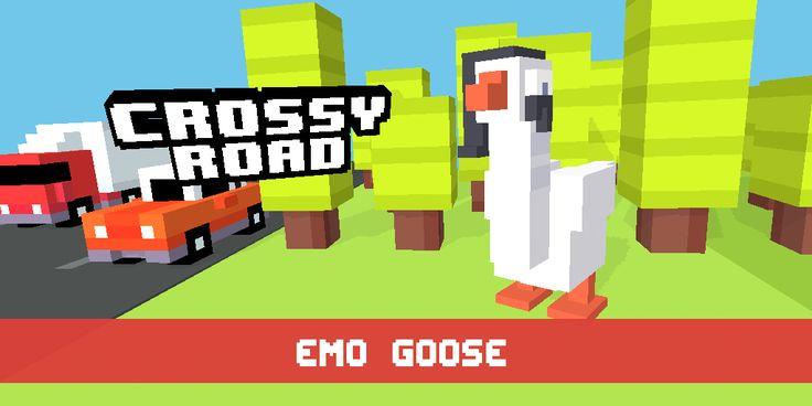 Emo Goose! #crossyroad