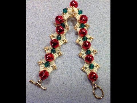 Jingle Bell Bracelet Tutorial - YouTube