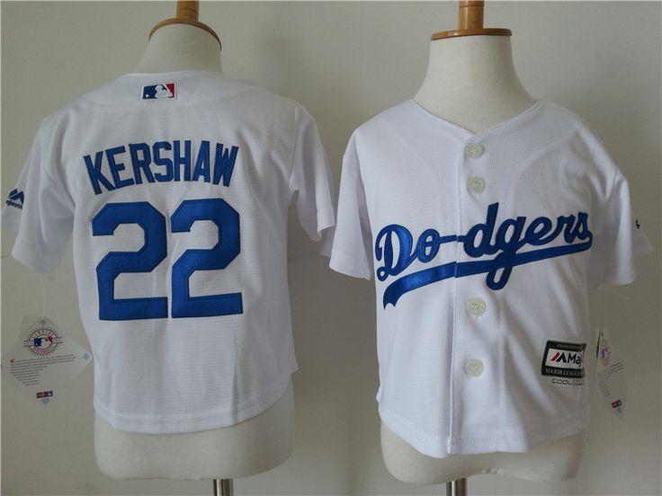 Infant MLB Los Angeles Dodgers #22 Clayton Kershaw Jerseys