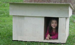 Free Dog House Plans - How to Build A Dog House