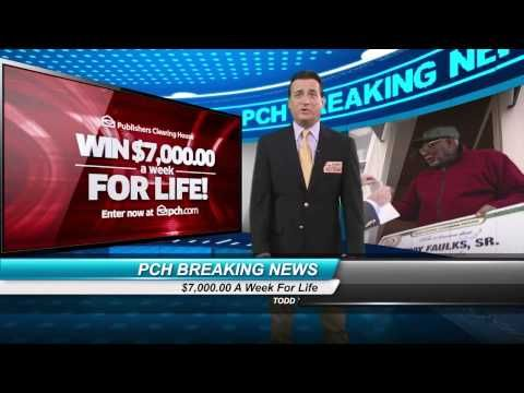 Breaking News From The Prize Patrol....You can be the next winner ! (Smiles)