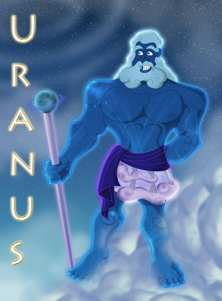 Uranus Caelus by 666Lucemon666 Greek gods and