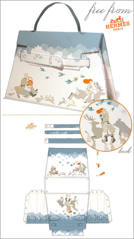 Freebies from Hermés - PDF saved.It is always fun to dream of ways to own a Hermes Bag.