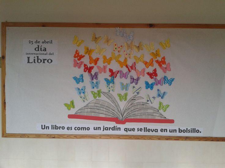 Mural día del libro