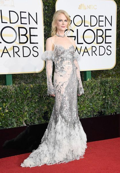 Nicole Kidman in Alexander McQueen at the 2017 Golden Globes - The Most Daring Golden Globe Dresses - Photos