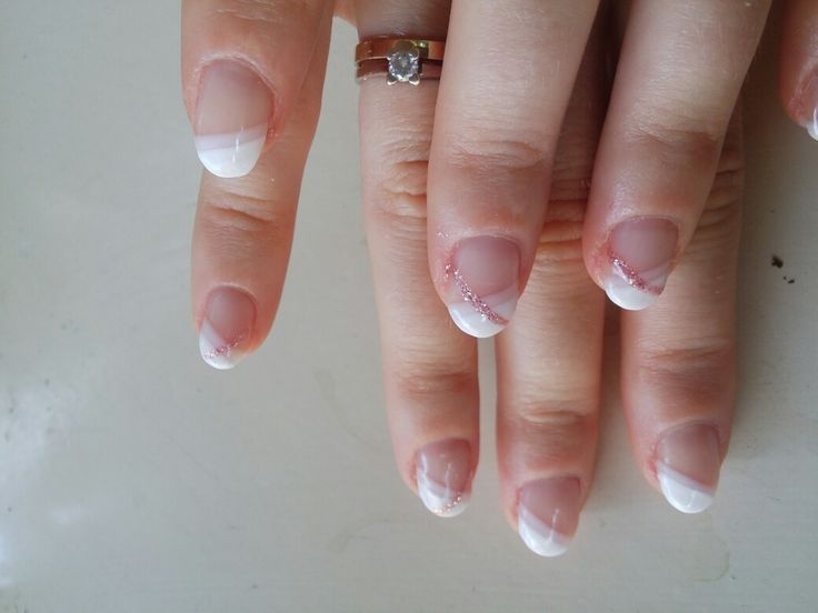 French manicure alternative!!!😉