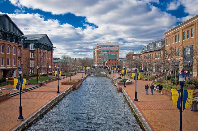 Riverwalk at Downtown Frederick, Maryland