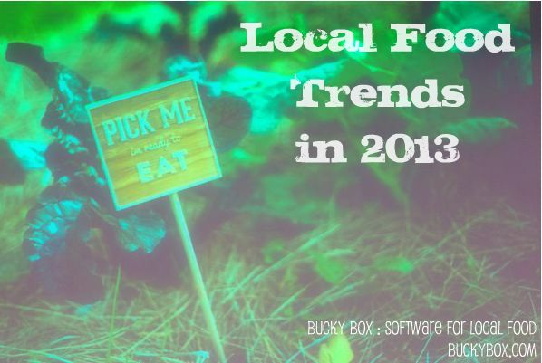 Local Food Trends 2013 by Bucky Box