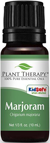 Plant Therapy Undiluted Therapeutic Grade Essential Oil Sweet Marjoram ** Want to know more, click on the image.