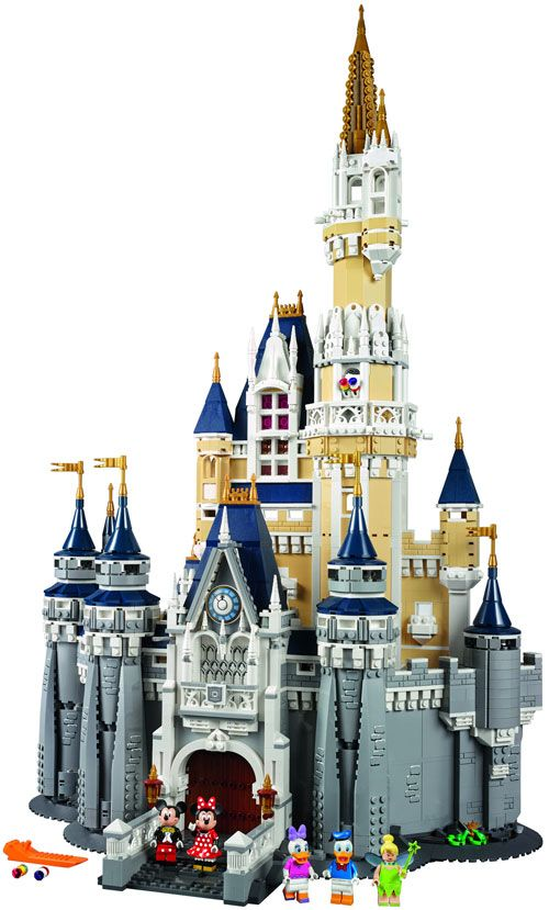 lego disney princess castle instructions