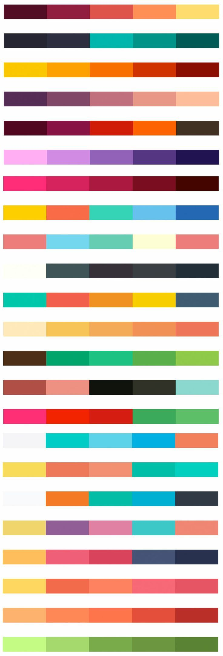 Flat-UI Colors | Autumn Edition Lovely combinations for nail polish!