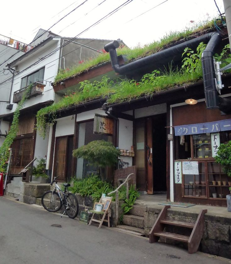 The Green Roof Top House - Osaka