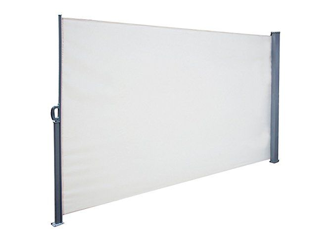 Would This Work For Outdoor Movie Night Projector Screen Simlife Retractable Side Awning Foldin Outdoor Privacy Screened In Patio Rectangular Patio Umbrella