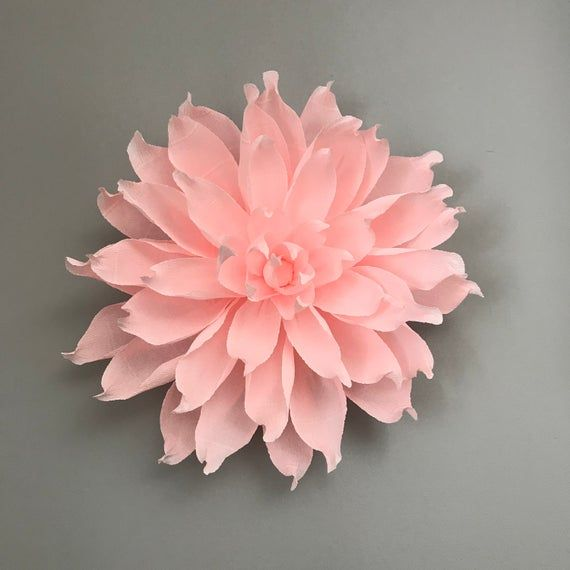 Giant Paper Flower Dahlia Wall Hanging Home Decor Wall Etsy In 2020 Giant Paper Flowers Paper Flowers Hanging Flower Wall