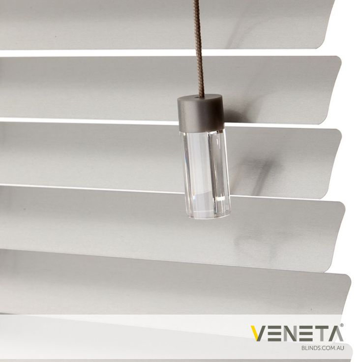 Veneta Blinds : Aluminium Blinds Colour : SILVER MOON