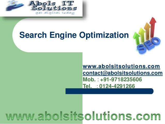 best seo company, best seo service in gurgaon, best seo services company by Abols IT Solutions via slideshare
