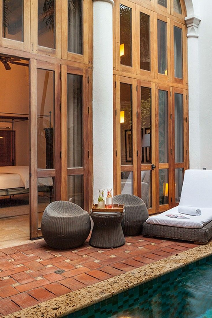 Spanning three mansions, Casa San Agustin is a standout boutique in the heart of Cartagena. #Jetsetter