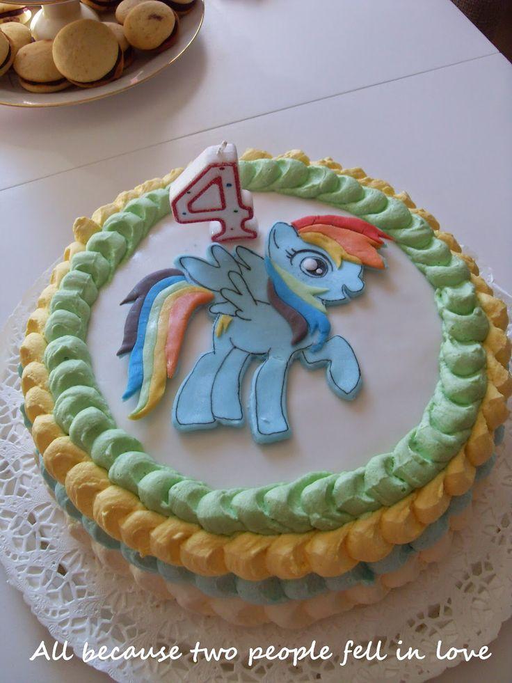 My Little Pony kakku