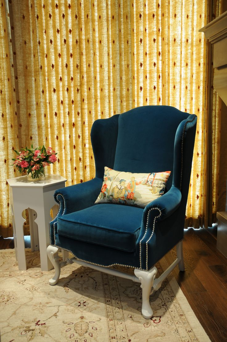 Wing Chairs For Living Room 17 Best Images About Wingback Chairs On Pinterest Blue And White