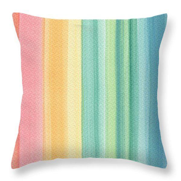 Throw Pillows - Sunshine Throw Pillow by Kathleen Wong