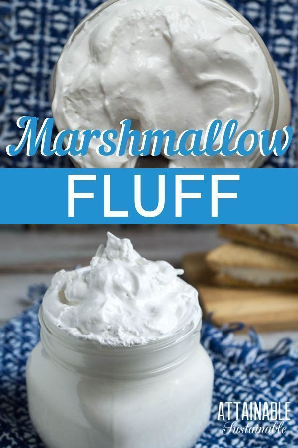 This Homemade Marshmallow Fluff Or Marshmallow Creme If You Prefer Recipe Is So Easy You Ll In 2020 Marshmallow Fluff Recipes How To Make Marshmallows Fluff Recipe