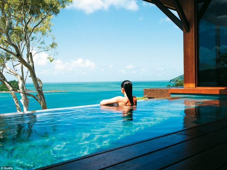 Hamilton Island's luxury resort, Qualia, is a unique Australian expression of world class ...