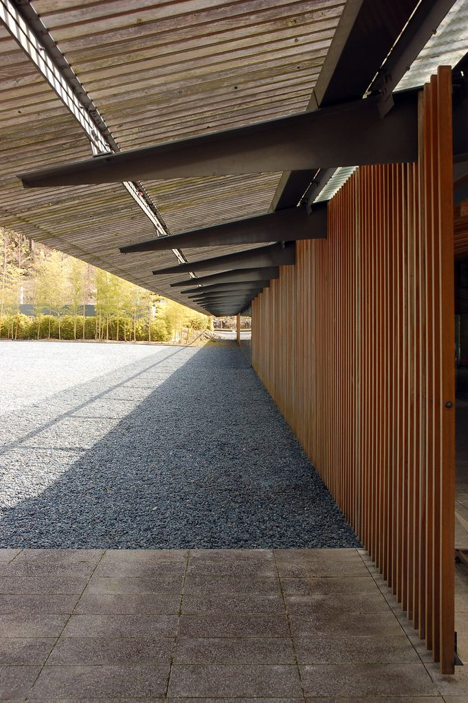 Hiroshige Ando Museum_Kengo KUMA (5) | by japanese_craft_construction