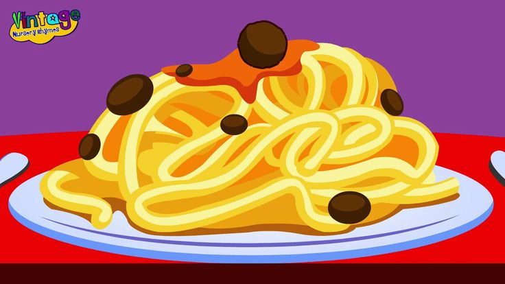 On Top of Spaghetti | Children's Nursery Rhyme With Lyrics | English Nur...