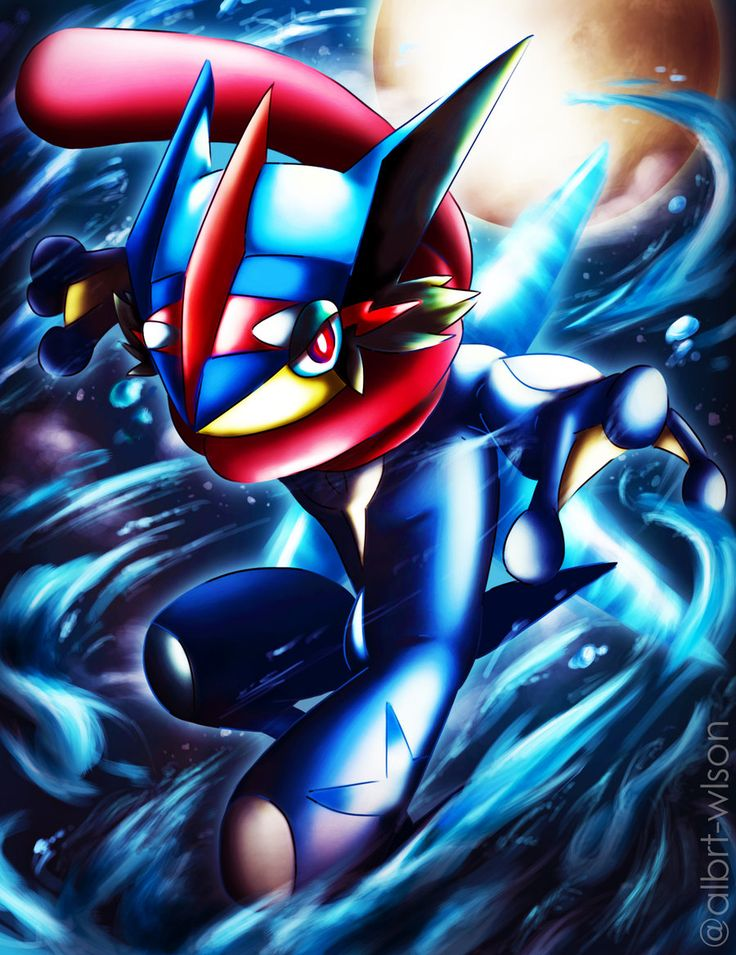 Ash-Greninja by albrt-wlson on DeviantArt