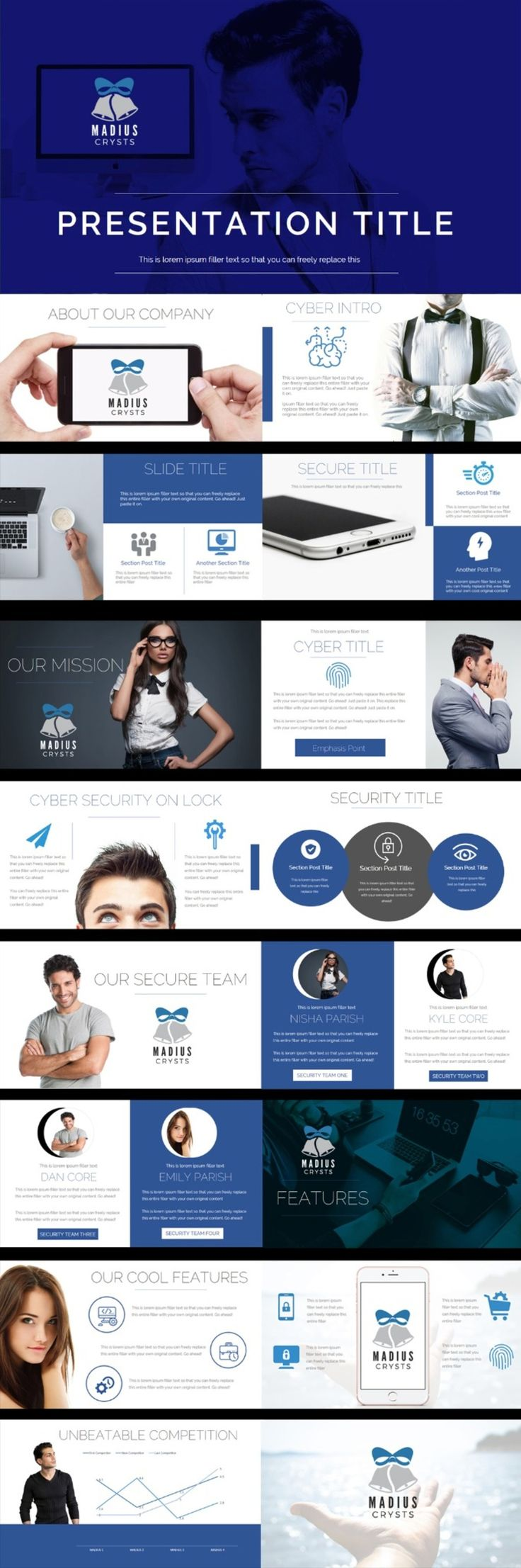 The 8 best gorgeous professional presentation inspiration images on cyber solutions professional clean powerpoint presentation iamgonegirl designs toneelgroepblik Gallery